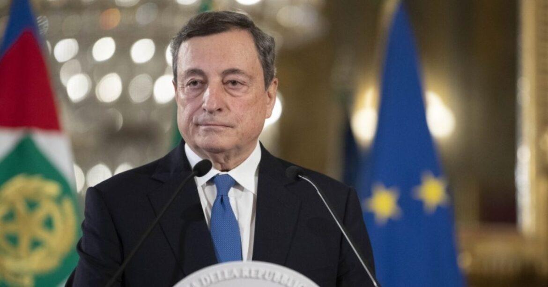 Mario Draghi. Credit Ufficio Stampa Quirinale